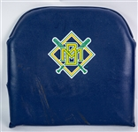 1994-99 Milwaukee Brewers County Stadium Padded Seat Back (MEARS LOA)