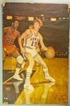 "1970 Pete Maravich Atlanta Hawks 24"" x 36"" Mounted Sports Illustrated Poster"