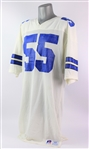 1985-88 Steve DeOssie Dallas Cowboys Game Worn Home Jersey (MEARS LOA)