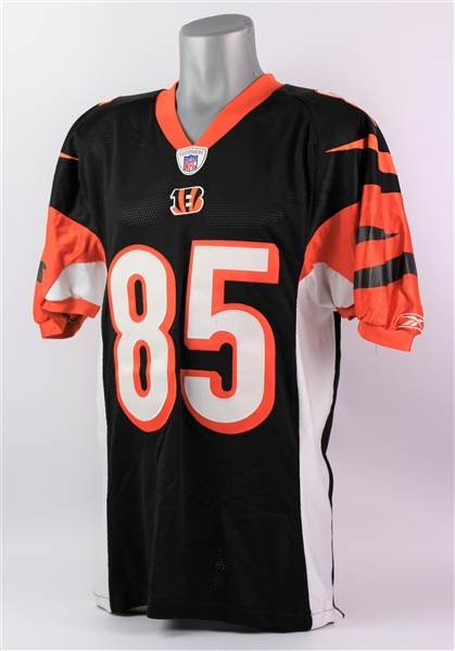 2004 Chad Johnson Cincinnati Bengals Home Jersey (MEARS LOA)