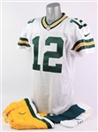2012 Aaron Rodgers Green Bay Packers Road Uniform (MEARS A5)