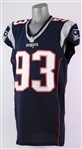 2015 Jabaal Sheard New England Patriots Game Worn Home Jersey (MEARS A10/Team COA)