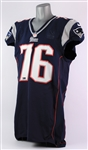 2012 Sebastian Vollmer New England Patriots Game Worn Home Jersey (MEARS A9/Team COA)