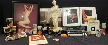1960s - Present Marilyn Monroe, Playboy Photos, Books, Statues & more (Lot of 45+)