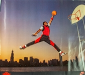 1985 Michael Jordan Chicago Bulls Nike Air Jordan Poster