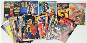 1980s-1990s Michael Jordan Chicago Bulls Sports Illustrated & Sporting News Magazines & more  (Lot of 50+)