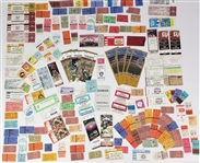 1960s-2000s Baseball, Basketball, & Football Ticket Stubs Including Milwaukee Brewers, Milwaukee Bucks & more (Lot of 100+)