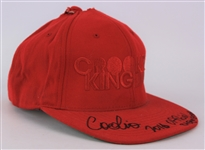 2016 Coolio Signed Official Stage Worn Gear Hat (MEARS LOA/JSA)