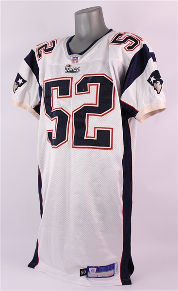 2002 Ted Johnson New England Patriots Game Worn Road Jersey (MEARS A10/Team COA)