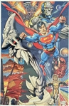 1994 Superman 22 x 33.5 Poster