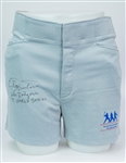 1990s Elias Sosa Los Angeles Dodgers Signed MLB Players Alumni Shorts (JSA)