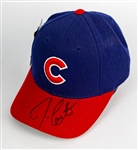 2000s Joe Carter Chicago Cubs Signed Adjustable Cap (*JSA*)