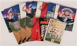 1980s-1990s All Star Game Programs (Lot of 17)