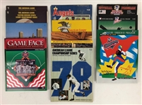 1970s-2000s American & National League Championship Programs (Lot of 15)