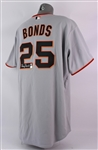 2004 Barry Bonds San Francisco Giants Signed Authentic Jersey (Bonds COA/MLB Hologram/JSA)