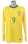2010 Adriano Brazil National Soccer Team Jersey