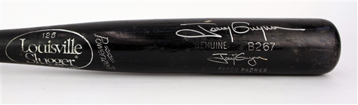 1993-97 Tony Gwynn San Diego Padres Signed Louisville Slugger Professional Model Game Used Bat (MEARS A8.5/JSA)