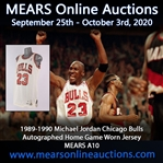 1989-90 Michael Jordan Chicago Bulls Signed Game Worn Home Jersey (MEARS A10/JSA)