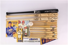 1970s-2000s Milwaukee Brewers Memorabilia Collection - Lot of 40+ w/ Robin Yount Signed Items, Bobbleheads & More