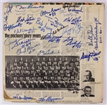1970s Green Bay Packers Multi Signed The Packers Glory Years Record Album Cover w/ 30 Signatures Including Bart Starr, Jim Taylor & More (JSA)