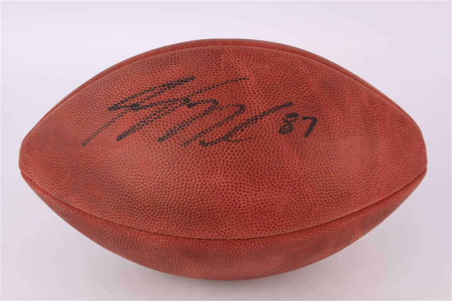 2008-17 Jordy Nelson Green Bay Packers Signed ONFL Goodell Football (JSA)