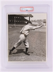 "1936 Joe DiMaggio New York Yankees 8"" x 10"" Original Rookie Season #9 Jersey Photograph (PSA Slabbed Type I Authentic)"