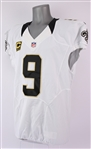 2015 Drew Brees New Orleans Saints Road Jersey (MEARS A5)