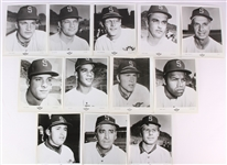 "1969 Seattle Pilots 8"" x 10"" Official Team Player Headshot Photos - Set of 27"