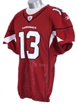 2008 Kurt Warner Arizona Cardinals Home Jersey (MEARS A5)