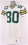1996 Derrick Mayes Green Bay Packers Road Jersey (MEARS A10)