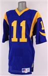 1989-90 Jim Everett Los Angeles Rams Signed Home Jersey (MEARS A5/JSA)