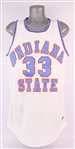 1979 Larry Bird Indiana State Sycamores Signed Jersey (JSA)
