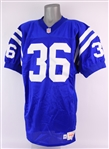 1995 Damon Watts Indianapolis Colts Game Worn Home Jersey (MEARS LOA)
