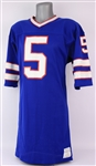 1979-80 Nick Mike-Mayer Buffalo Bills Game Worn Home Jersey (MEARS LOA)