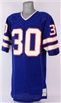 1975-77 Bo Cornell Buffalo Bills Game Worn Home Jersey (MEARS LOA)