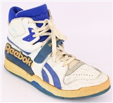 1988-90 Rik Smits Indiana Pacers Signed Reebok Game Worn Sneaker (MEARS LOA)