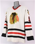 1988-92 Steve Konroyd Chicago Blackhawks Game Worn Home Jersey (MEARS LOA)