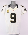 2012 Drew Brees New Orleans Saints Road Jersey (MEARS A5)