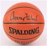 2000s Jerry West Los Angeles Lakers Signed ONBA Stern Basketball (JSA)