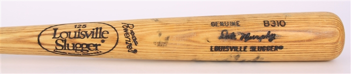 1986-89 Dale Murphy Atlanta Braves Louisville Slugger Professional Model Game Used Bat (MEARS A9 & PSA/DNA GU 9)