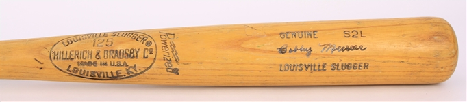 1977-79 Bobby Murcer Chicago Cubs H&B Louisville Slugger Professional Model Game Used Bat (MEARS A7)