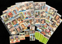 1960-74 Baseball Trading Card Collection - Lot of 350+