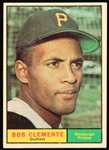 1961 Roberto Clemente Pittsburgh Pirates Topps Baseball Trading Card