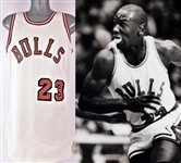 1984-1985 Michael Jordan Chicago Bulls Game Worn Jersey (MEARS A10)