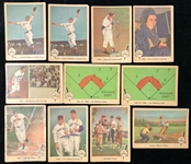 1959-60 Baseball Trading Card Collection - Lot of 50 w/ Fleer Baseball Greats & Ted Williams