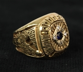 1977 Elias Sosa Los Angeles Dodgers National League Champions Ring (MEARS LOA)